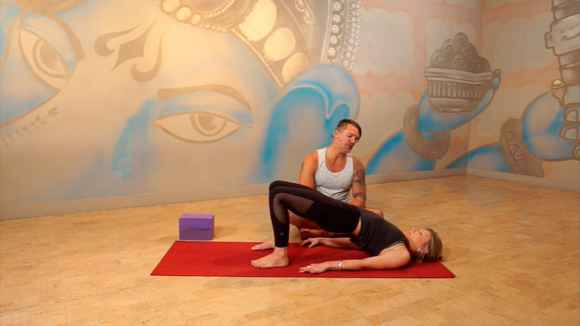 Learn To Move From Your Core duncan peak yogaholics power living australia yoga online yoga