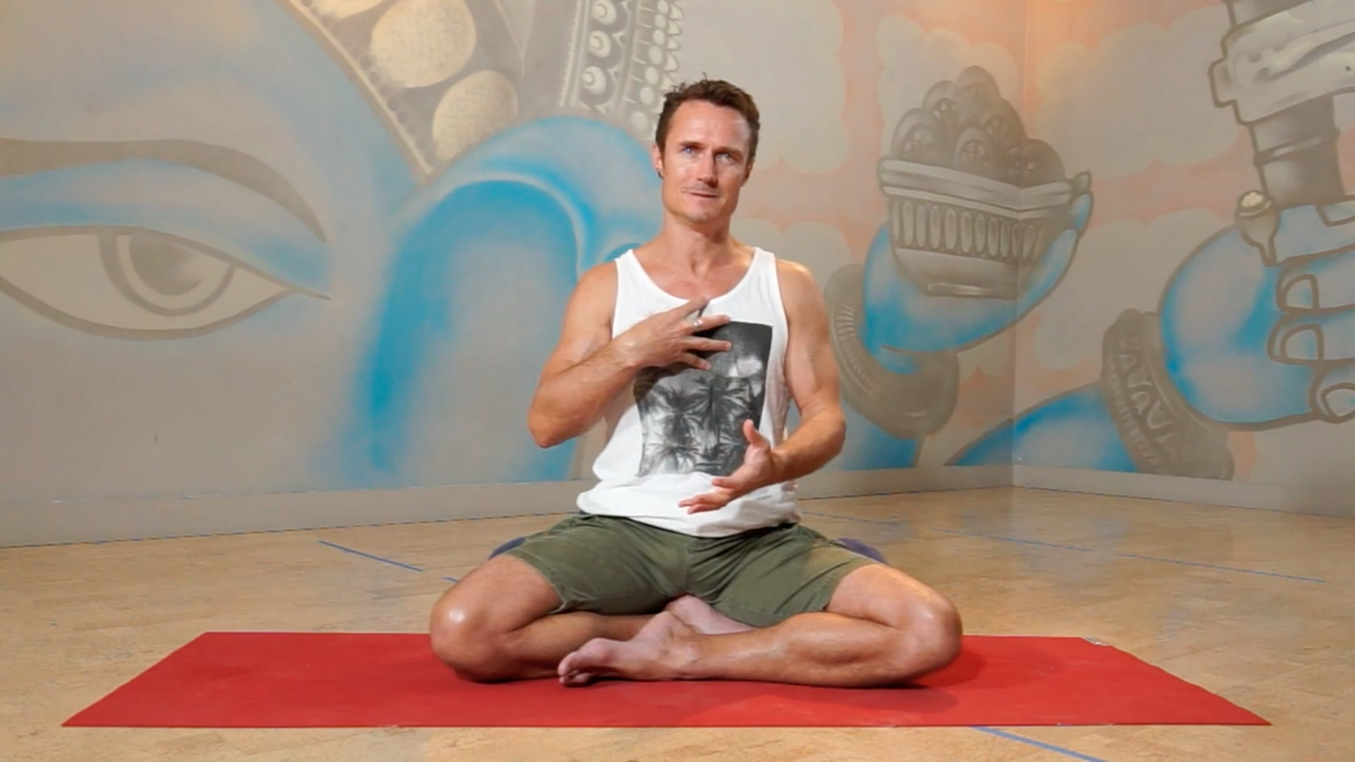 Surrender keenan crisp inspiration Power Living Australia Yoga YOGAHOLICS