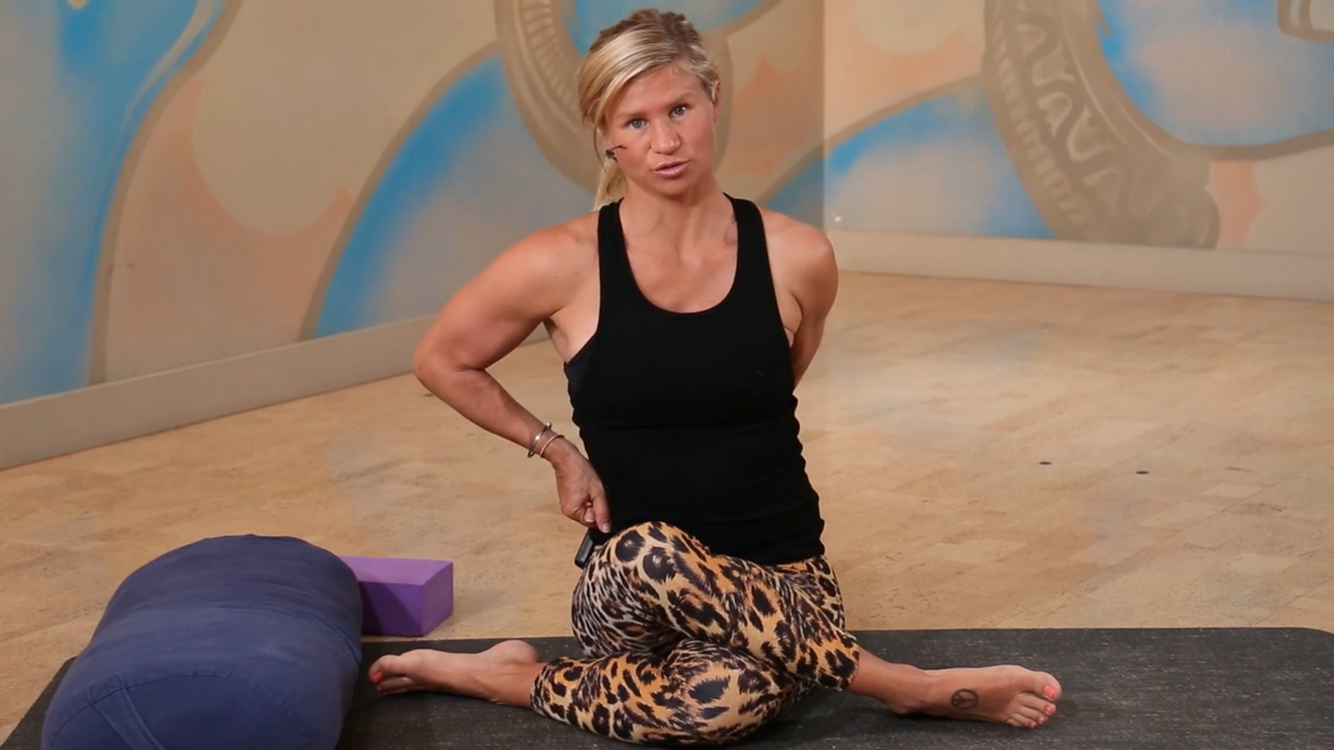 post work out wind down Shauna Hawkes YOGAHOLICS power living australia yoga online yin