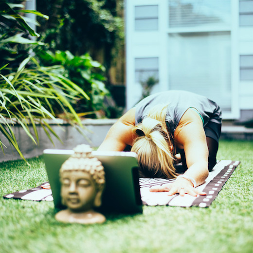 How To Practice Yoga At Home With No Props