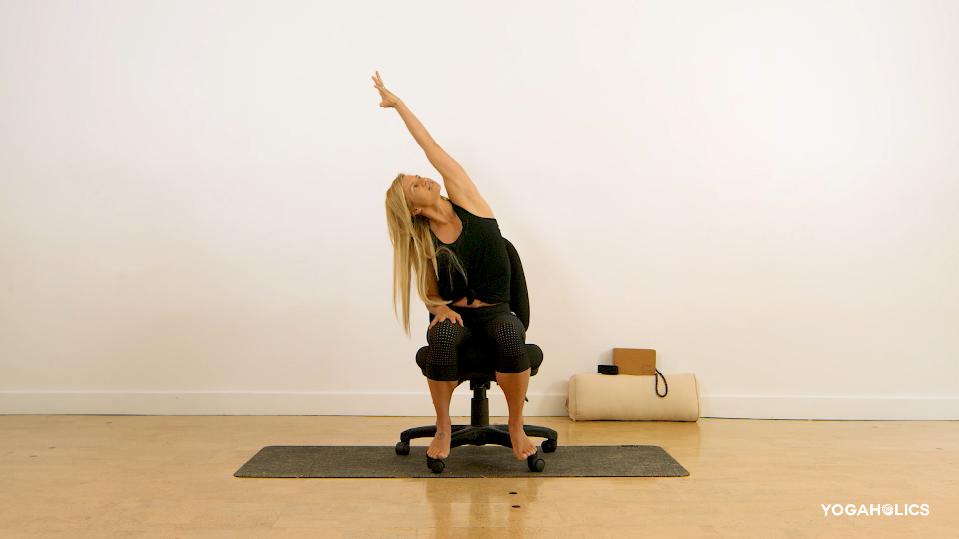 Desk Yoga by Shauna Hawkes
