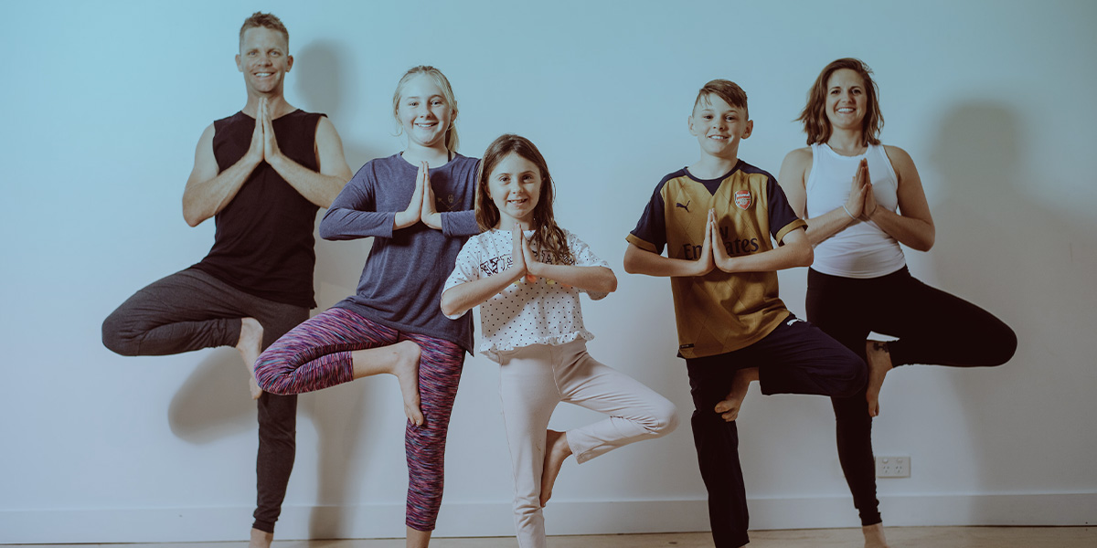 Let's Spread Your Love Of Yoga To The Kids
