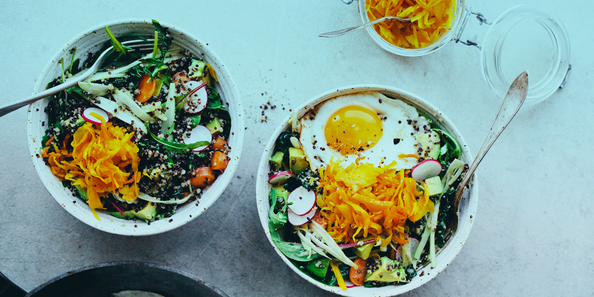healthy lunch bowl